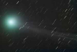 Comet Star Trails